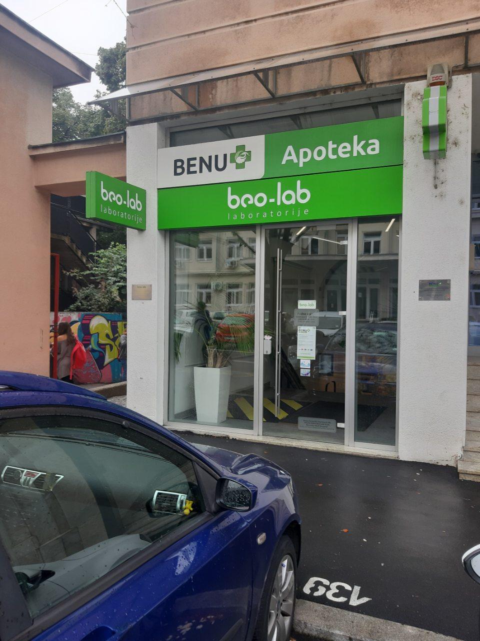 Beo-lab laboratorija Resavska 60, Beograd, Savski Venac 4