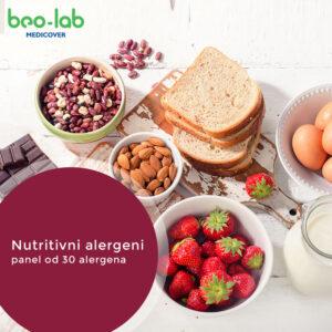nutritivni alegeni panel od 30 aalergena