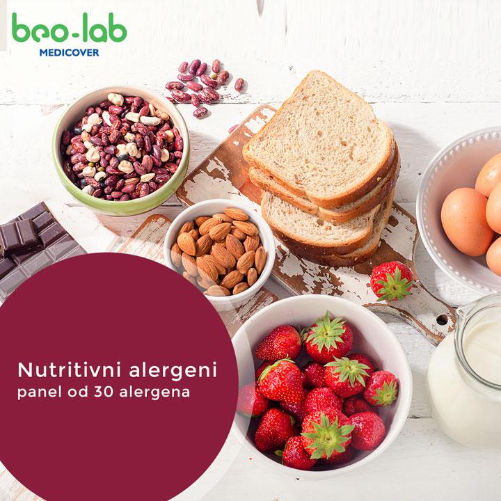 nutritivni alergeni panel 30 alergena