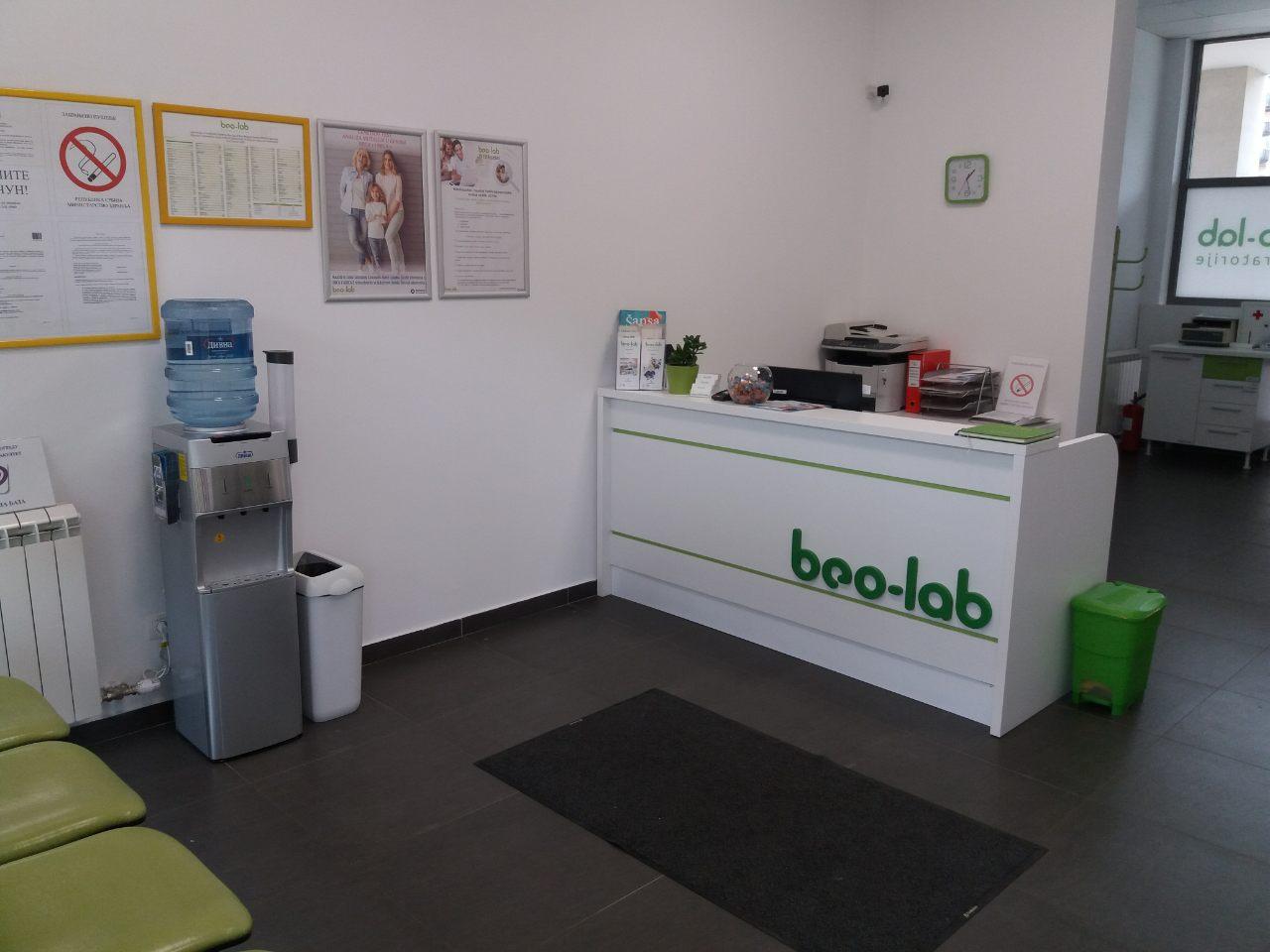 Beo-lab laboratorija Retenzija, Bul. Mihajla Pupina 16V, Novi Beograd 2