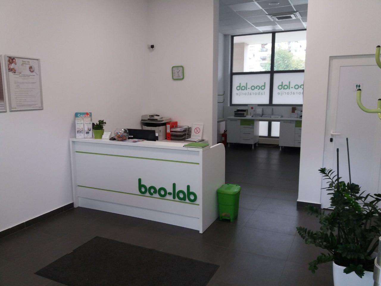 Beo-lab laboratorija Retenzija, Bul. Mihajla Pupina 16V, Novi Beograd 4