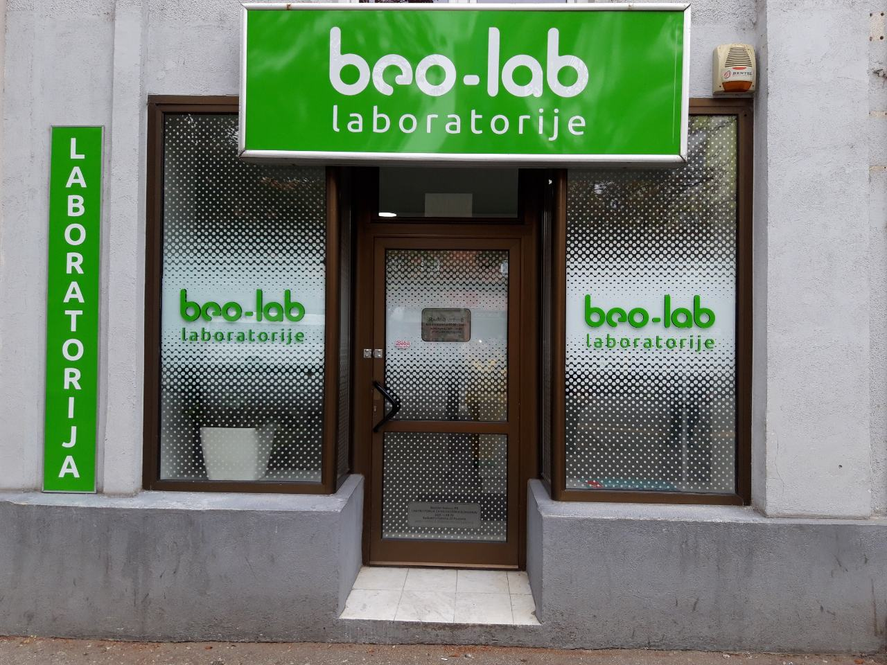 Beo-lab laboratorija Pančevo, Radomira Putnika 22 4