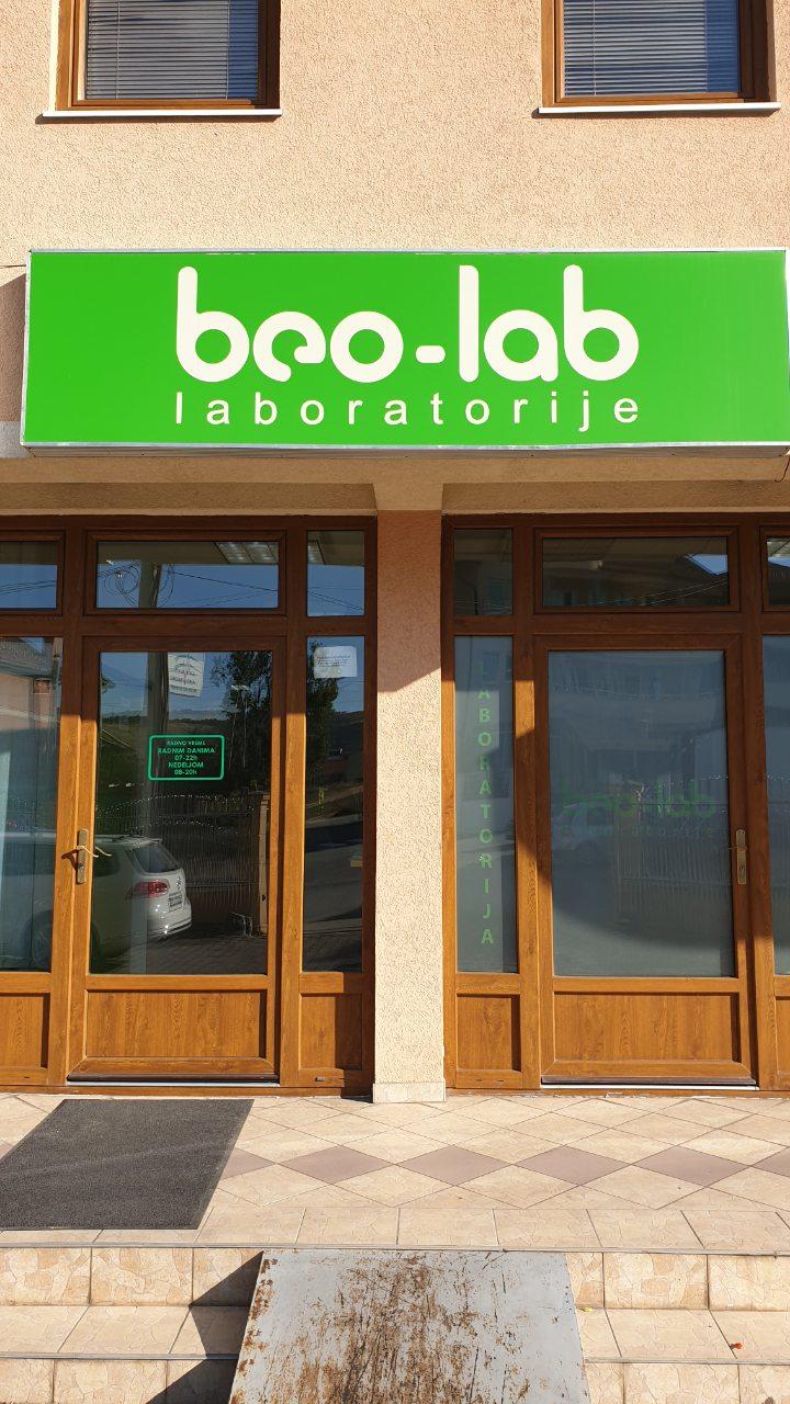 Beo-lab laboratorija Novi Pazar, Kosančićeva 55 2