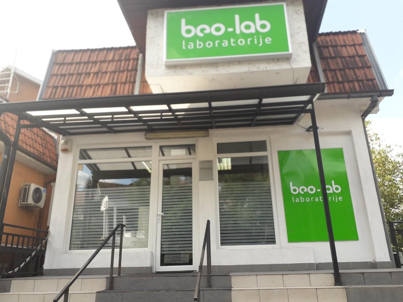 Beo-lab laboratorija Rakovica, Borska 41M 1