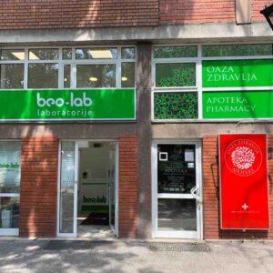 Beo-lab laboratorija Karaburma, Marijane Gregoran 69