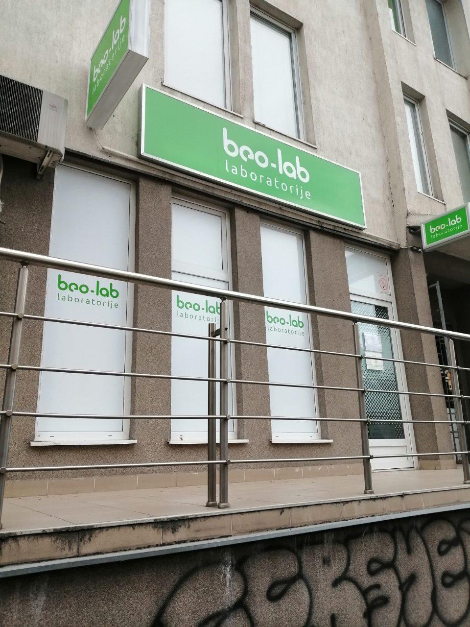 Beo-lab laboratorija Žarkovo, Ratka Mitrovića 148 2