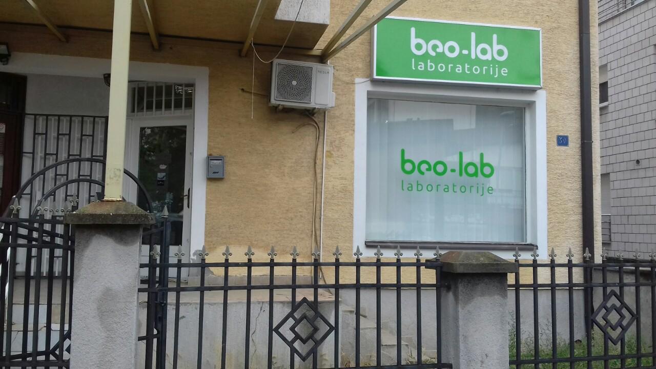 Beo-lab laboratorija Banovo Brdo, Nikolaja Gogolja 30a 7
