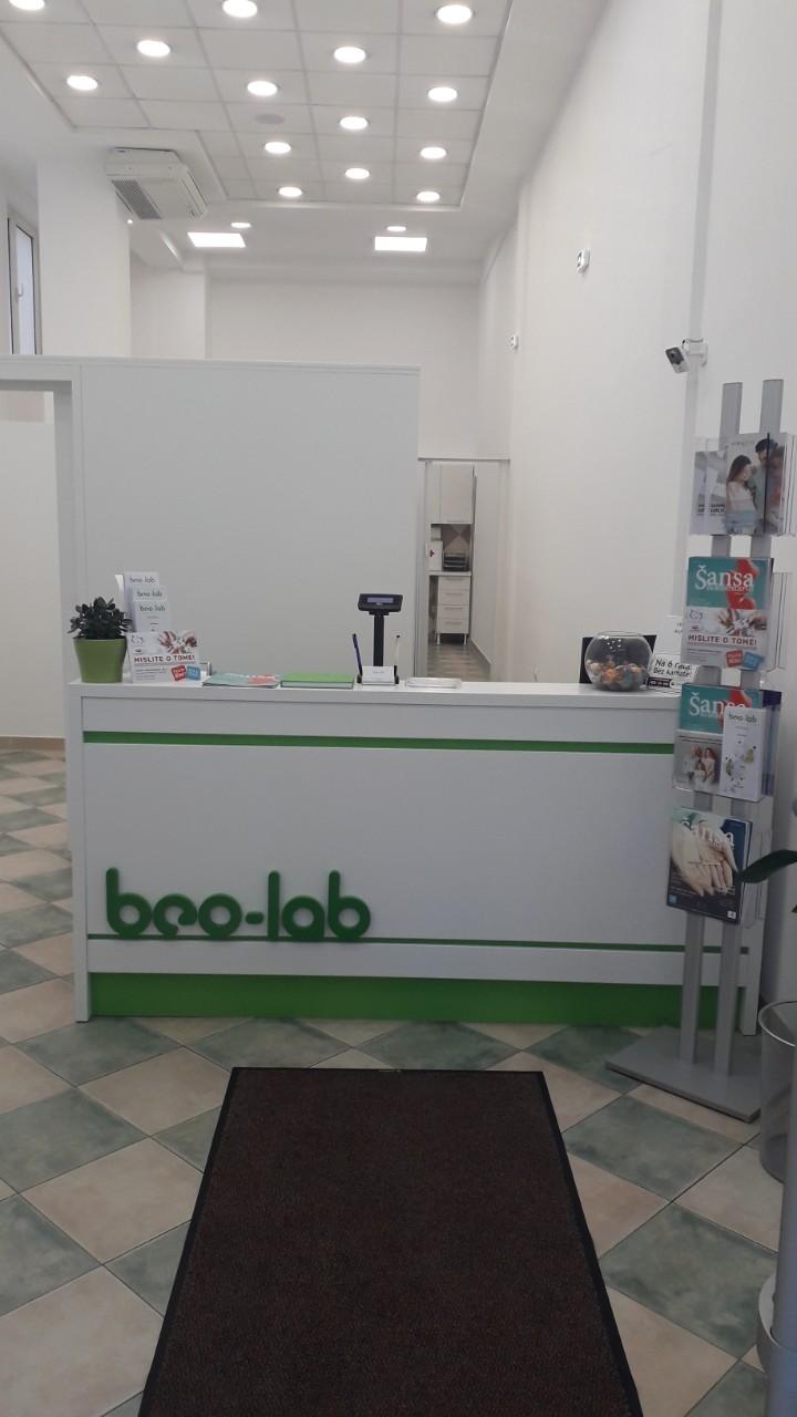 Beo-lab laboratorija Karaburma, Marijane Gregoran 69 2