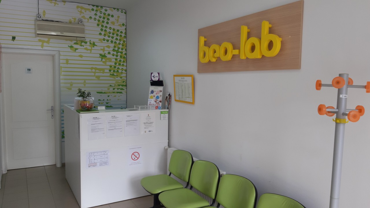 Beo-lab laboratorija Vršac, Abraševićeva 64 2