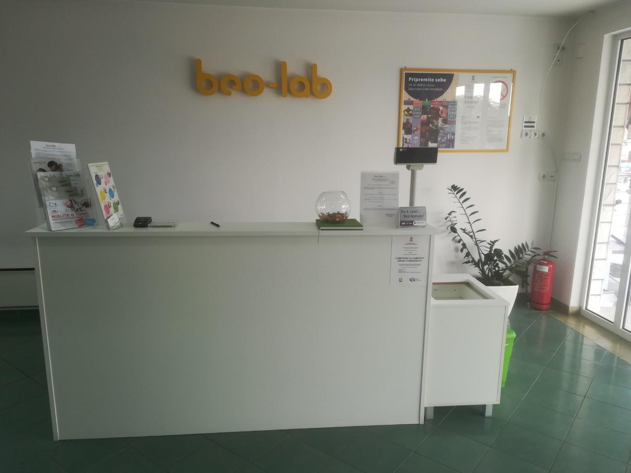 Beo-lab laboratorija Kaluđerica, Smederevski put 24b 2