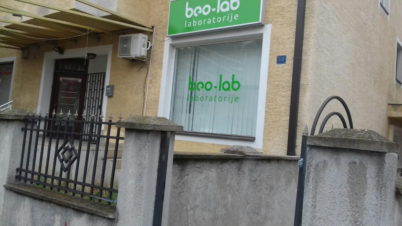 Beo-lab laboratorija Banovo Brdo, Nikolaja Gogolja 30a 5