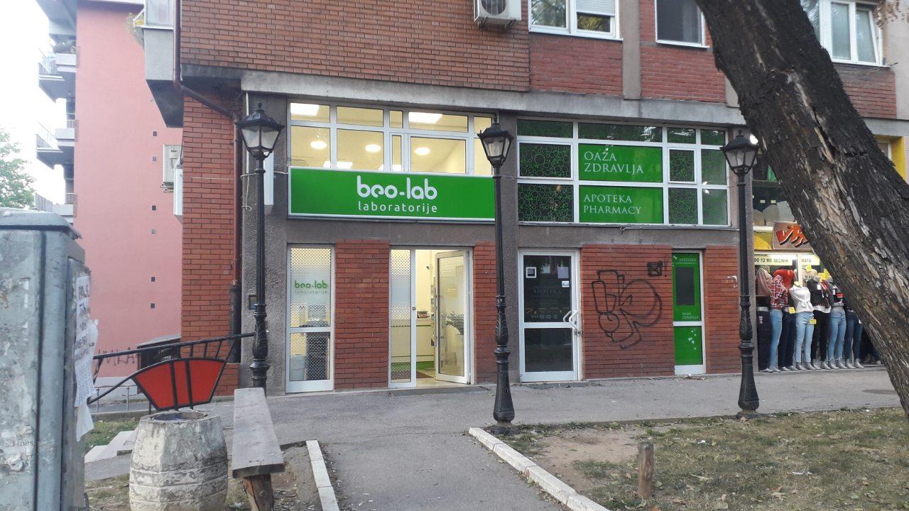 Beo-lab laboratorija Karaburma, Marijane Gregoran 69 5