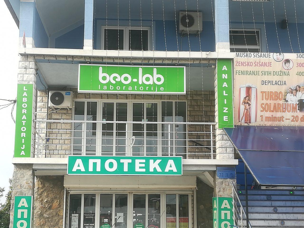 Beo-lab laboratorija Kaluđerica, Smederevski put 24b 8