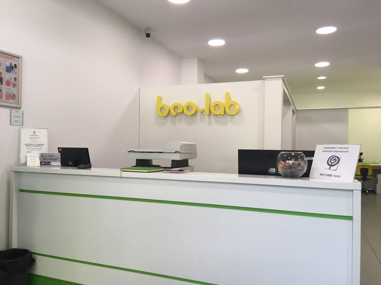 Beo-lab laboratorija Banjica, Crnotravska 7 2