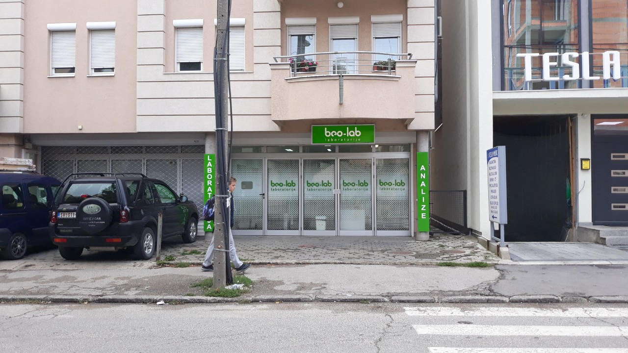 Beo-lab laboratorija Kragujevac - Luja Pastera 24 8