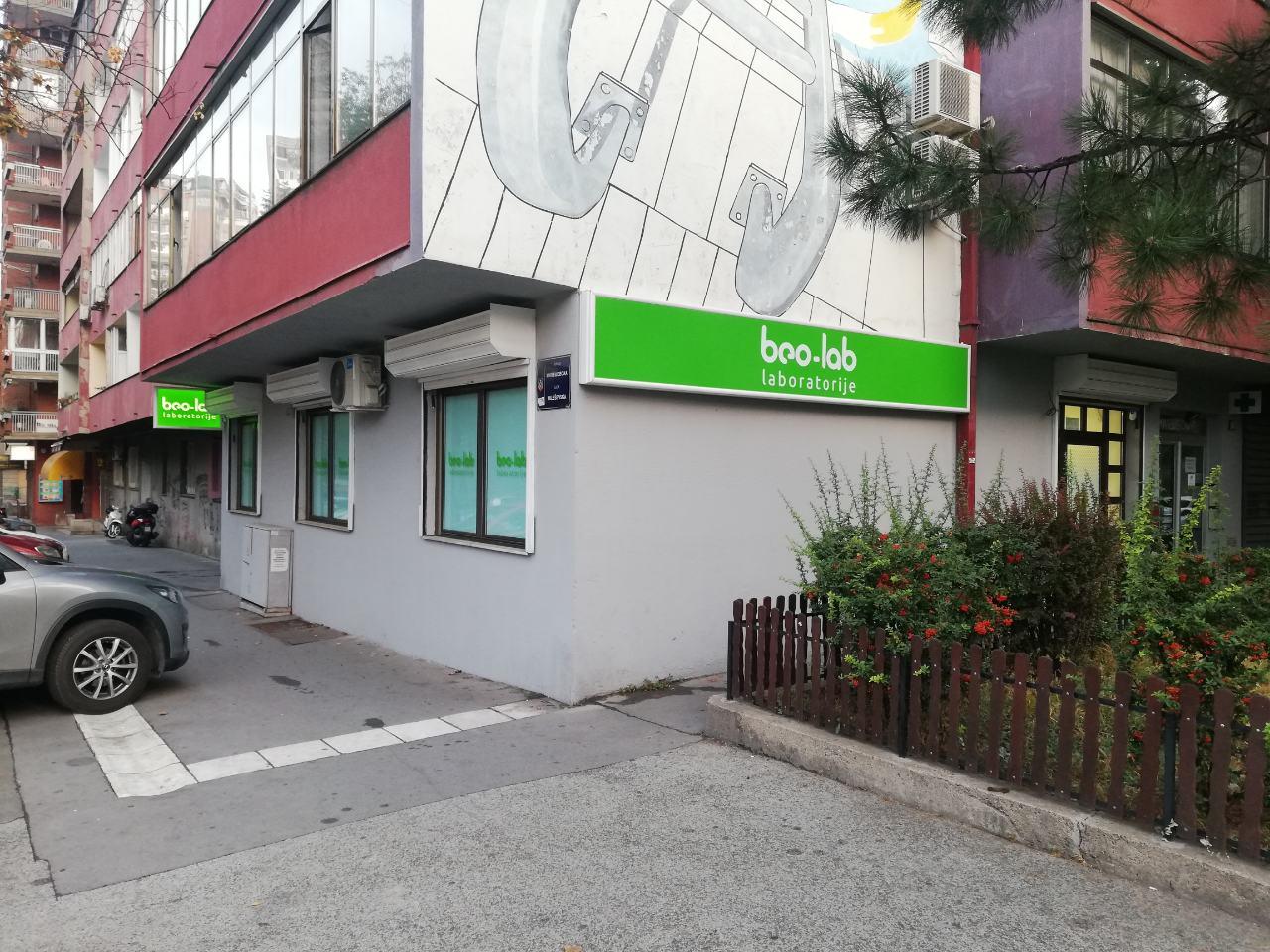 Beo-lab laboratorija Vračar, Mileševska 53 3