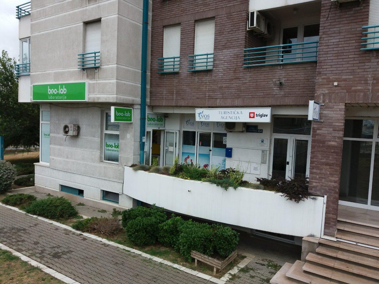 Beo-lab laboratorija Arena, Bul. Arsenija Čarnojevića 64 6
