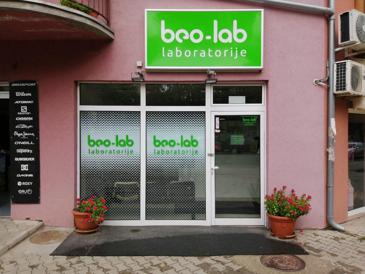 Beo-lab laboratorija Velika Plana, Nikole Pašića bb 2