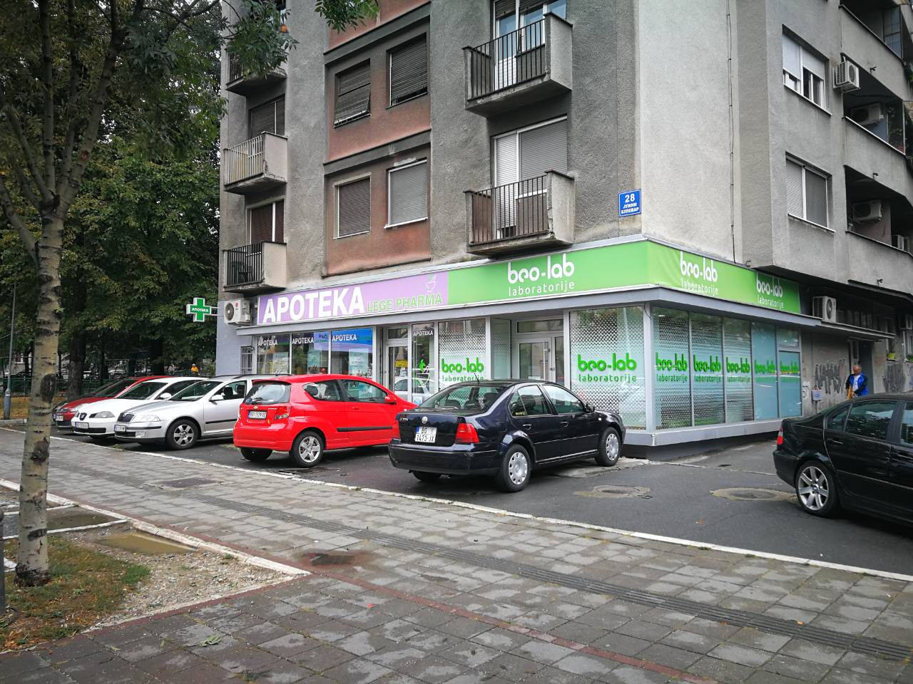 Beo-lab laboratorija Vračar, Južni Bulevar 28 3