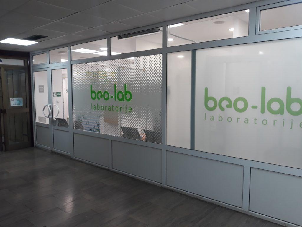 Beo-lab laboratorija Niš, Vojvode Tankosića 15 4