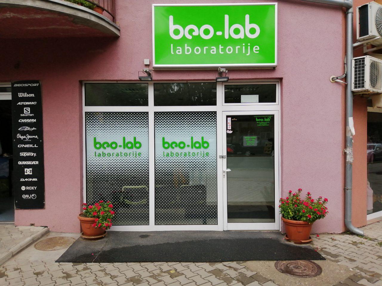 Beo-lab laboratorija Velika Plana, Nikole Pašića bb 6