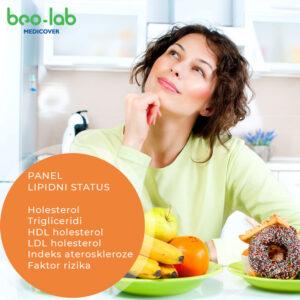 lipidni status panel analiza