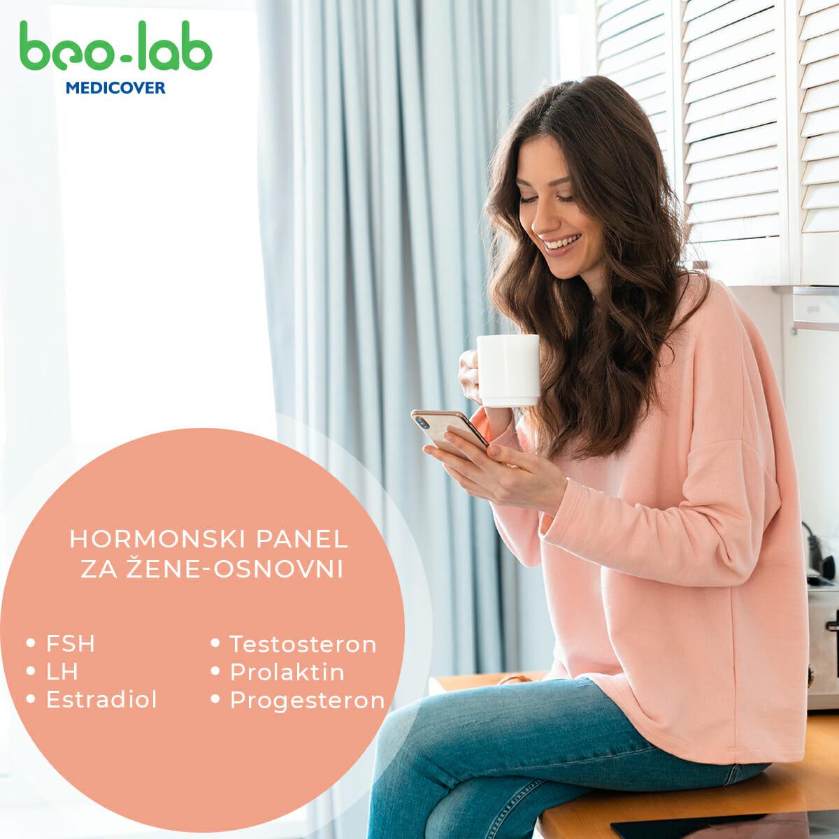 Hormonski panel za žene - osnovni