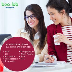 Hormonski panel za žene prošireni
