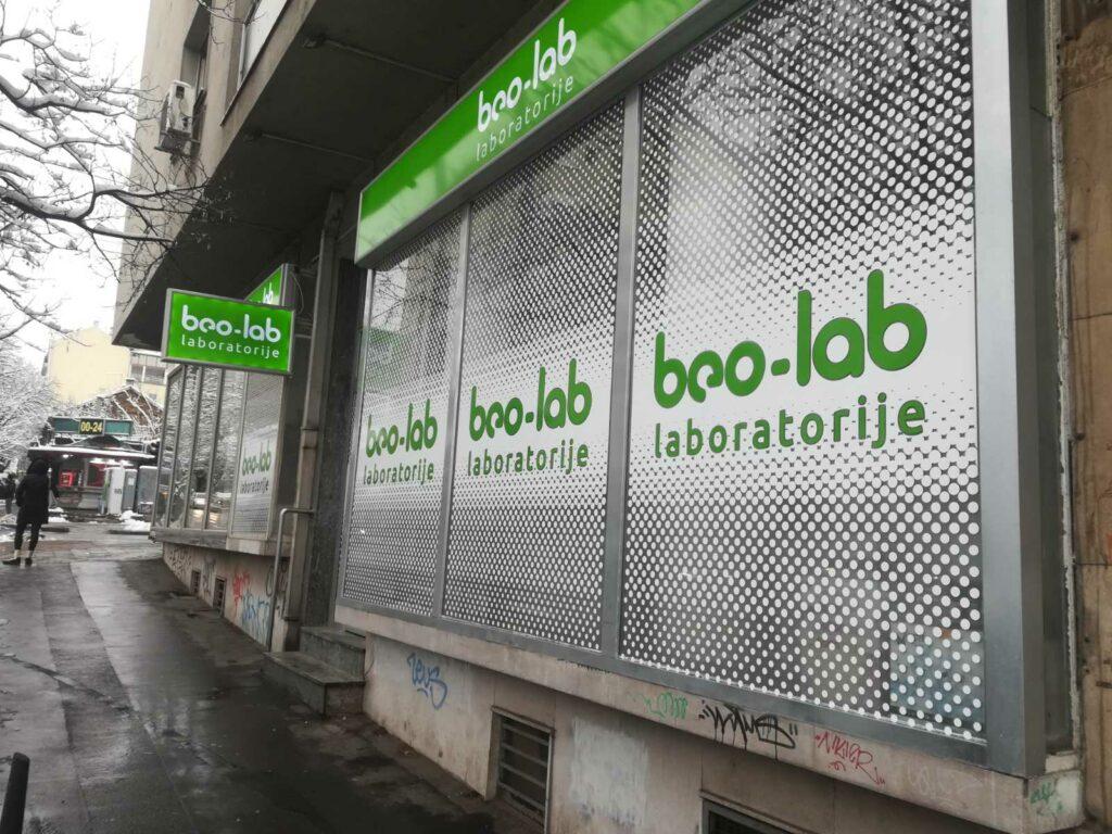 Beo-lab laboratorija Vračar Beogradska 18 2