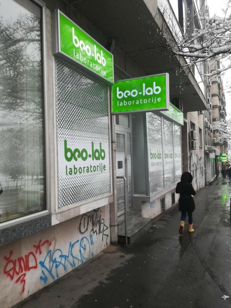 Beo-lab laboratorija Vračar Beogradska 18 1