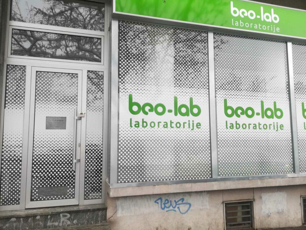 Beo-lab laboratorija Vračar Beogradska 18 4